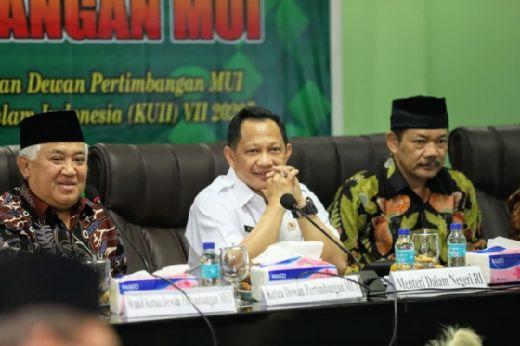 Jelang Kongres Umat Islam Indonesia Mendagri Bahas Pembangunan SDM dengan MUI