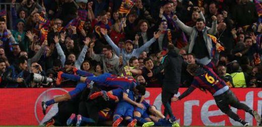 Ratusan Ribu Orang Tuntut Barcelona vs PSG Tanding Ulang!