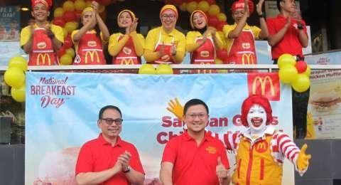 National Breakfast Day, McDonalds Bagi-bagi Sarapan Gratis di Seluruh Indonesia