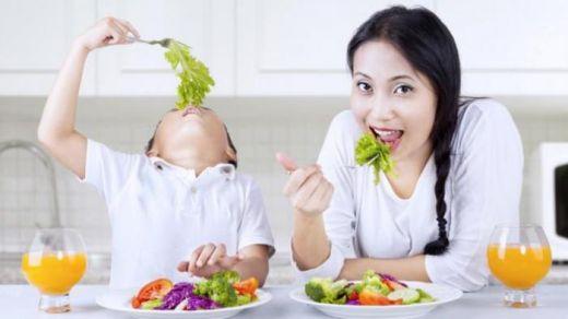 Kurang Makan Sayur dan Buah, Bisa Bikin Anak Gampang Marah