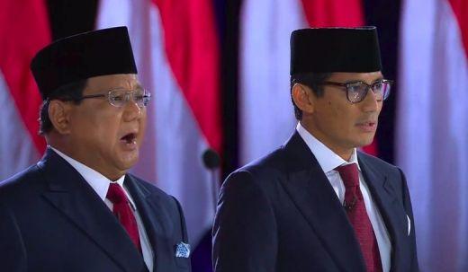 Prabowo Sindir Jokowi Soal Dana Desa, Sandiaga Janji Tak Ambil Gaji di Penutup Debat