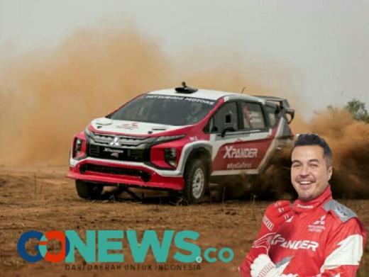 Kunci Sukses Rifat Sungkar saat Geber Mitsubishi Xpander AP4 dan Juara Reli Tanjung Lesung