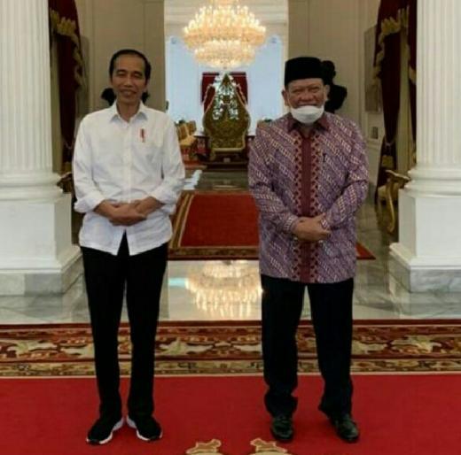 Satu Jam di Istana, LaNyalla Bahas Ketahanan Pangan hingga Penguatan DPD RI