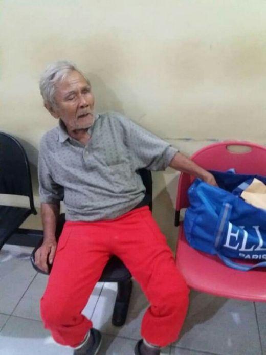 Mohon Dibantu, Kakek Umur 79 Tahun Tak Tahu Alamat Rumahnya, Posisi Saat Ini di Mapolsek Tampan