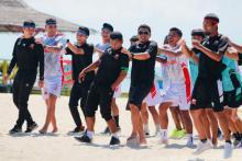 Madura United FC Ikut Outbond di Pantai Sembilan