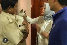 Cerita Prabowo Soal Bobby, Kucing Jalanan yang Suka Kencingin Tas dan Sepatu Mahal Tamunya