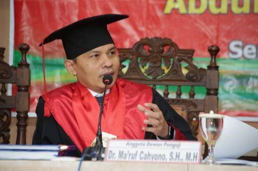 Maruf Cahyono: MPR Penengah Sengketa Kewenangan Lembaga Negara