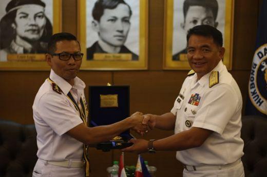 KJK Taruna AAL Kunjungan Kerja ke Angkatan Laut Filipina