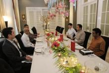 Kuatkan Hubungan Kerjasama Antar Negara saat Pandemi, Azis Syamsudin Temui Dubes Singapura