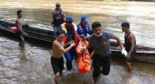 Dua Orang Meninggal Dunia Akibat Longboat Tenggelam di Perairan Obi Halsel
