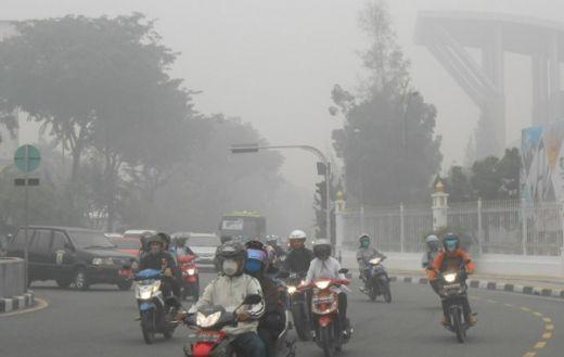 1.231 Titik Api Terdeteksi di Sumatera, BMKG: Pencemaran Udara di Pekanbaru Kategori Berbahaya