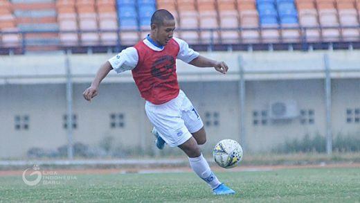Gian Zola Senang Bisa Latihan Kembali Dengan Persib
