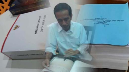 Sekjen DPR Konfirmasi Naskah Final UU Cipta Kerja dari 1.035 Jadi 812 Halaman