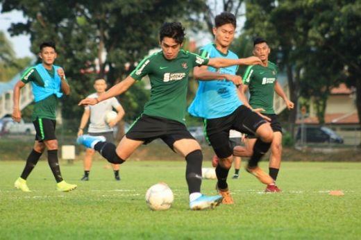 Timnas Indonesia Jalani Latihan Perdana