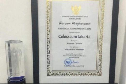 DKI Beri Penghargaan Diskotek Colloseum