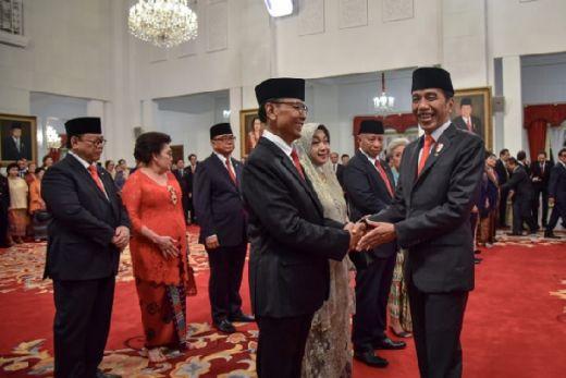 Sah! Ini Sembilan Orang Anggota Wantimpres Jokowi Jilid II