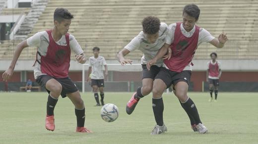 Pelatih Timnas U-16 Lakukan Internal Game Pertama