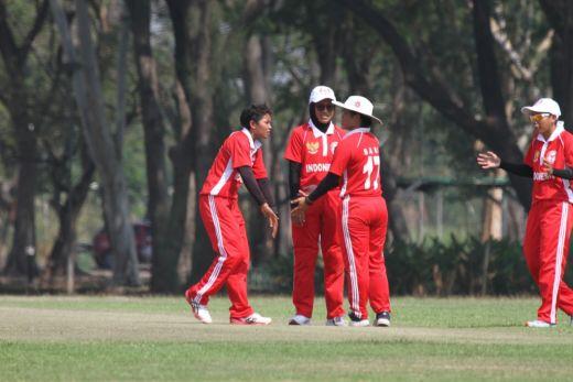 Luar Biasa...Timnas Cricket Putri Indonesia Tembus Semifinal