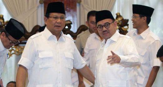 Pidato Prabowo Tak Disiarkan Langsung di Media Arus Utama, BPN Sebut Tak Mau Langgar Aturan KPU