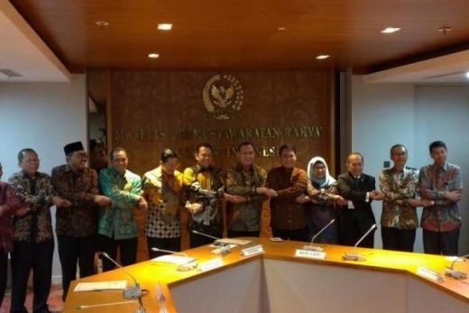 KPK Kunjungi MPR RI, Bamsoet Ingatkan soal Jiwasraya dan Asabri