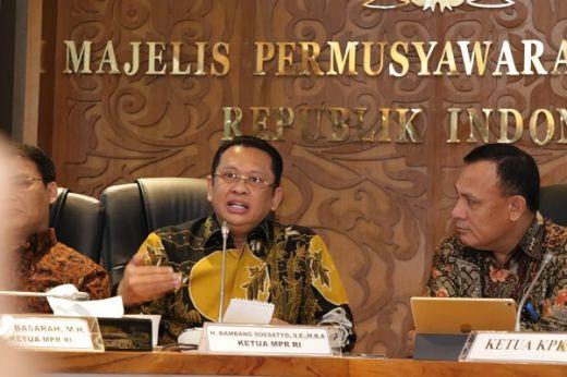 Ketua MPR RI: KPK Harus Kedepankan Pencegahan Dibanding Penindakan