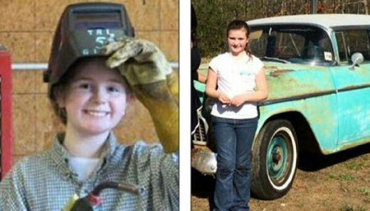Hebat, Bocah Perempuan 10 Tahun Beli Mobil dengan Uang Hasil Usahanya Sendiri