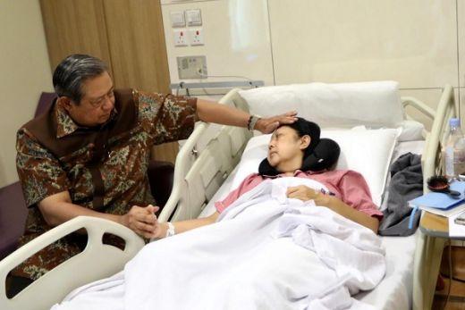 Doa Untuk Ibu Ani SBY dari Penyintas Kanker Paru Stadium 4B yang sedang Menjalani Kemoterapi ke-8