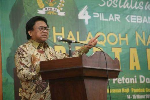 Harlah GP Ansor ke-83, Oesman Sapta: Mana Bisa Petani Makmur Kalau Tidak Dibantu