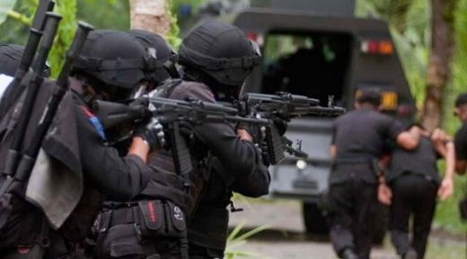 Densus 88 Tangkap Terduga Teroris Abu Riky di Rohil Riau