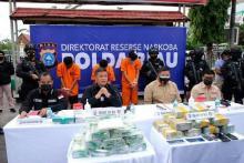 Darurat Narkoba di Riau, Dari 463 Tersangka dalam Sebulan, Diantaranya Oknum ASN Ikut Diciduk