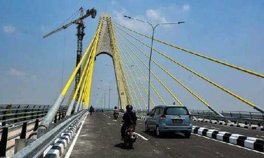 Penangkal Petir dan Ratusan Baut Dicuri, Jembatan Siak IV Riau akan Ditutup!