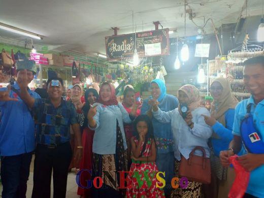 Kampanye Terakhir, GRN PAS Riau Sosialisasi Prabowo-Sandi ke Pasar Wisata