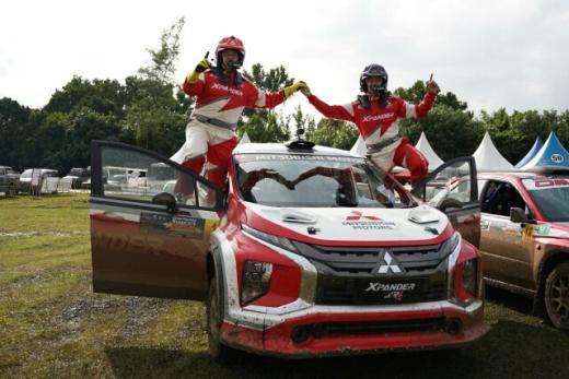 Xpander AP4 Juarai Fortuna Nusantara Tropical Sprint Rally 2021