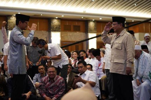Prabowo: Menyerah adalah Pengkhianatan pada Negara