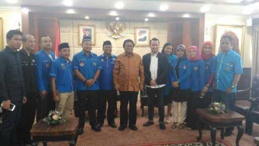 Ketua DPD RI Berharap Melalui KNPI Pemuda Indonesia Lebih Terarah