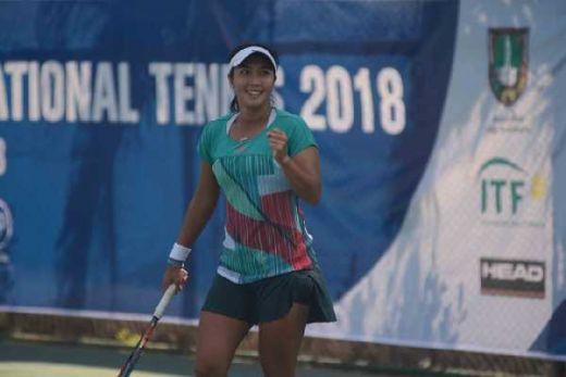 Akhirnya, Aldila Raih Gelar Juara Pertama di Womens Cirkuit Internasional Tenis 2018