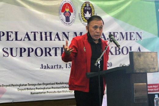 PSSI Apresiasi Pelatihan Manajmen Suporter Sepakbola