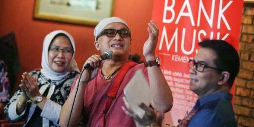Dihadiri Puluhan Artis Senior, Kemenpora Gagas Bank Musik bagi Pelaku Seni