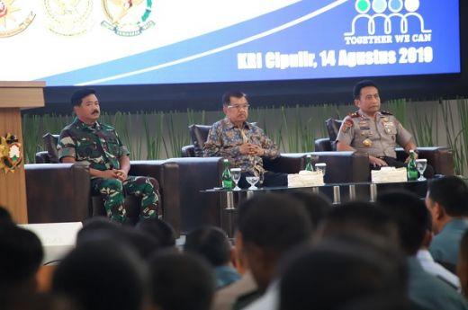 Wapres Beri Pembekalan 1.024 Pasis Sesko TNI/Polri dan Angkatan