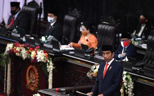 Berikut Isi Lengkap Pidato Kenegaraan Jokowi di Sidang Tahunan MPR