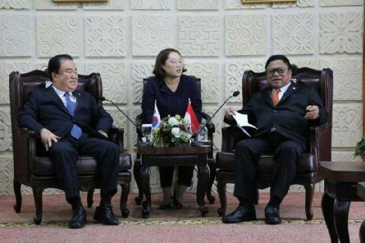 Terima Kunjungan Ketua Parlemen Korsel, Ketua DPD RI Bahas Investasi Daerah