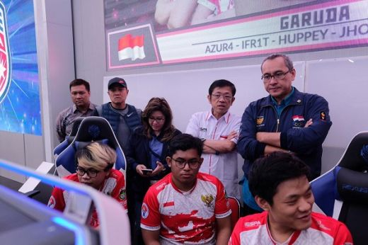 Tim Esport Indonesia Ingin Sapu Bersih Medali