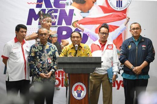 Menpora Inginkan Prestasi Indonesia Lebih Baik Dari Dua Tahun Lalu