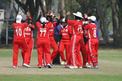 Timnas Cricket Putri Indonesia Siap Tampil Habis-habisan Lawan Nepal di Semifinal