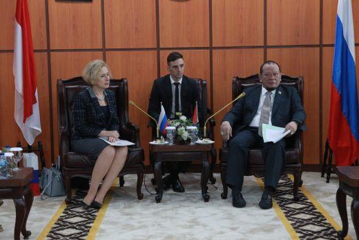 Ketua DPD RI dan Dubes Rusia Sepakat Perkuat Kerjasama Hubungan Bilateral RI-Rusia