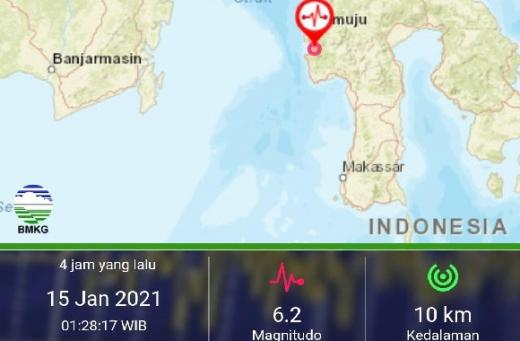 DPR Berduka untuk Sulbar, Seluruh Pihak Diharuskan Bersinergi Bantu Korban