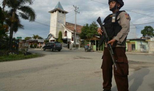 Pintu Gereja Terbakar di Palu, Diduga Upaya Teror