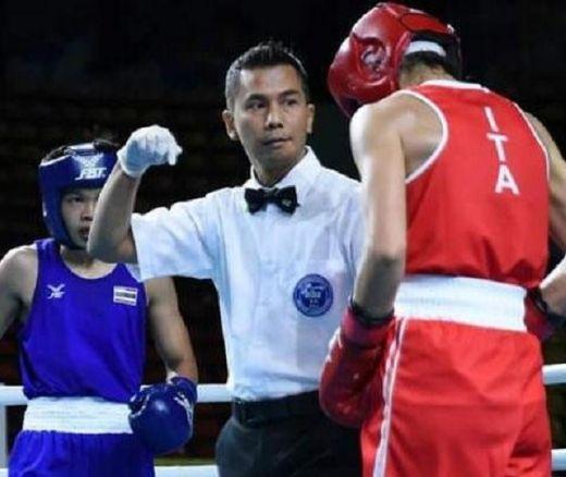 Catat Sejarah, Boy Pohan Jadi Satu-satunya Wasit/Hakim Tinju Indonesia