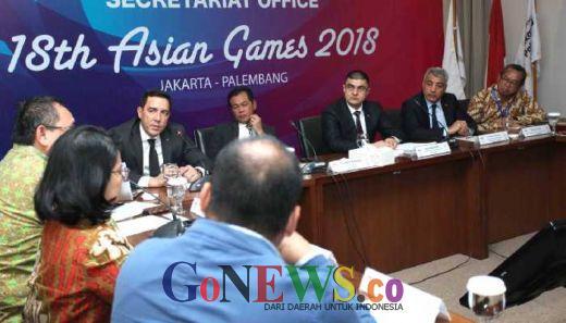 Rencana Sosialisasi <em> Asian Indor and Martial Arts Games </em>, INASGOC Terima Delegasi Turkmenistan