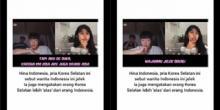 Hina Perempuan Indonesia, Netizen +62 Bikin Pria Asal Korea Tak Berkutik dan Minta Maaf